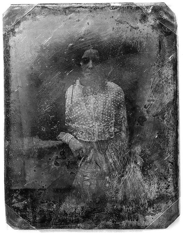 Ritratto di anonima (fra il 1850 e il 1860)