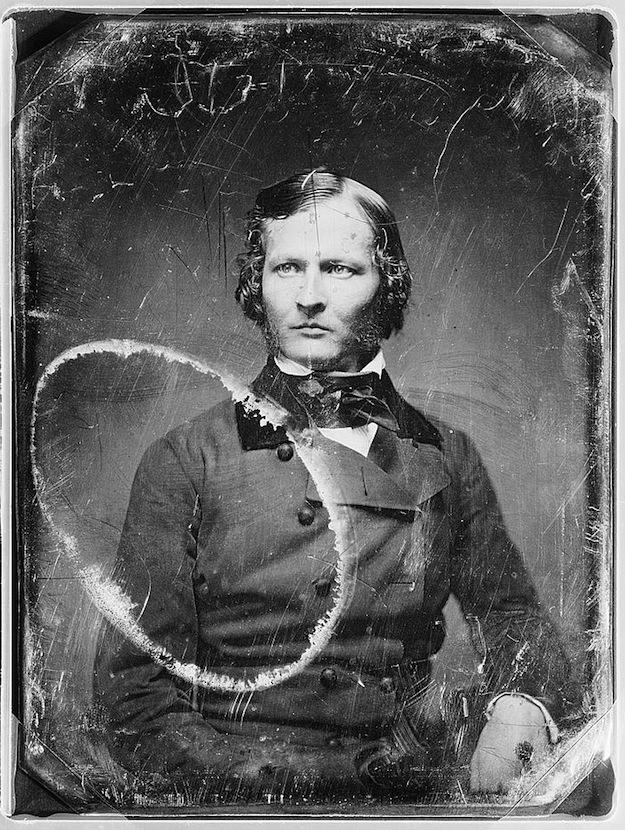 Ritratto di anonimo (fra il 1844 e il 1860)