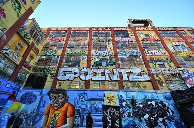 Addio ai graffiti del 5Pointz a New York