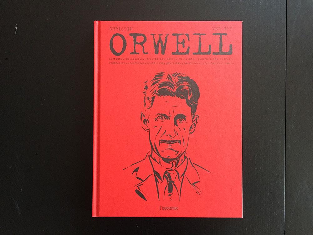 La biografia a fumetti di George Orwell