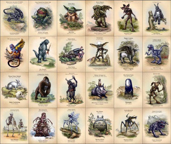 Tutta la serie di illustrazioni di Chet Philips