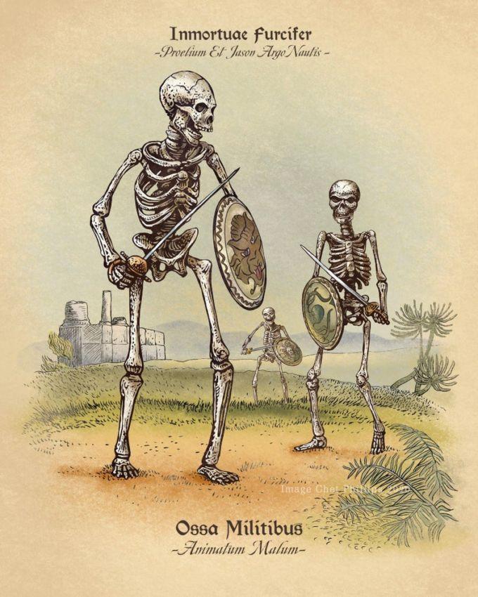 Guerrieri scheletri