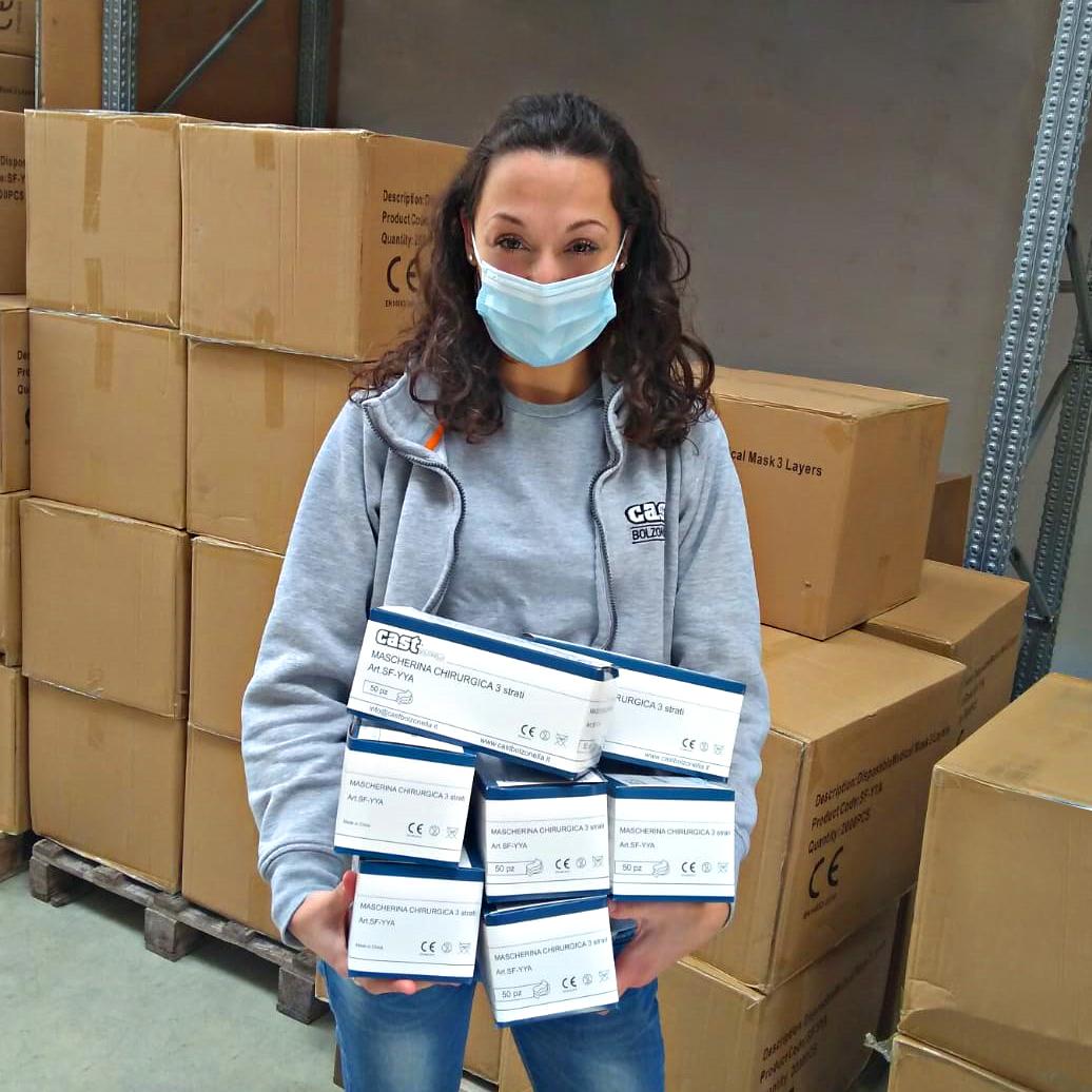 Più protezione con DPI anti-Covid di Bolzonella Care