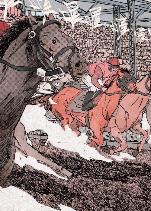 Le gare dei cavalli sono uno snodo fondamentale della storia