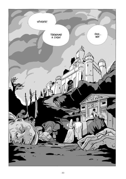 Le ambientazioni antiche di Last Man