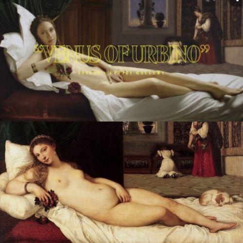 Due Veneri di Urbino a confronto