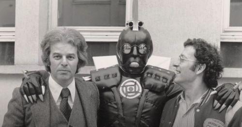 Jodorowsky, Giger e Seydoux in una foto tratta dal film
