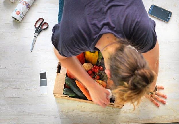 la verdura è un ottima composizione da fotografare