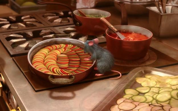 Ricetta Zuppa Ratatouille.La Ratatouille Di Remy Il Topolino Francese Di Ratatouille