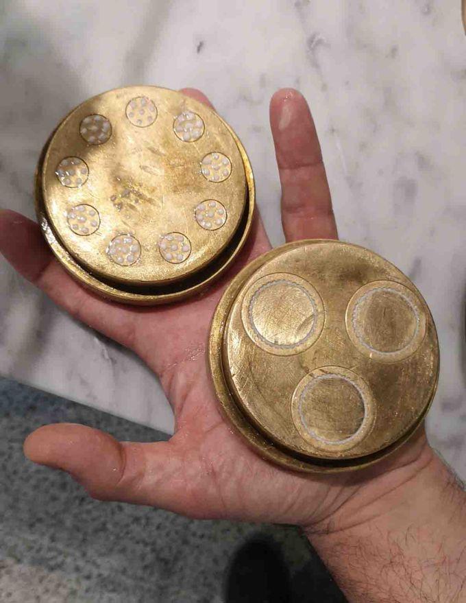 Trafilatura in bronzo