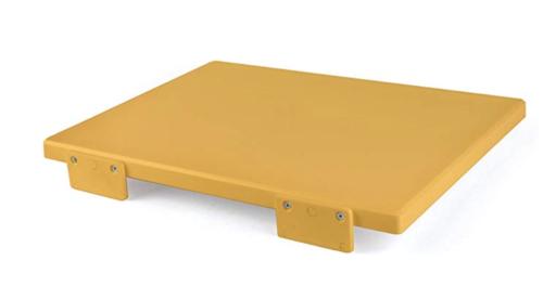 tagliere giallo haccp polietilene
