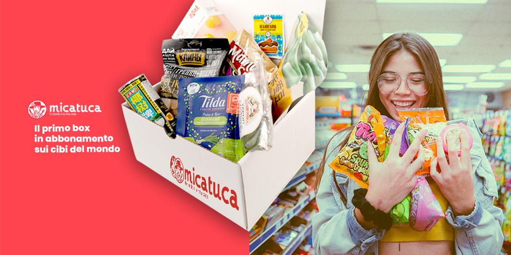 MICATUCA: il primo box in abbonamento sui cibi del mondo - DailyFood