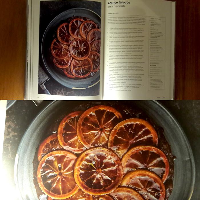 """Arance tarocco – Torta rovesciata"""