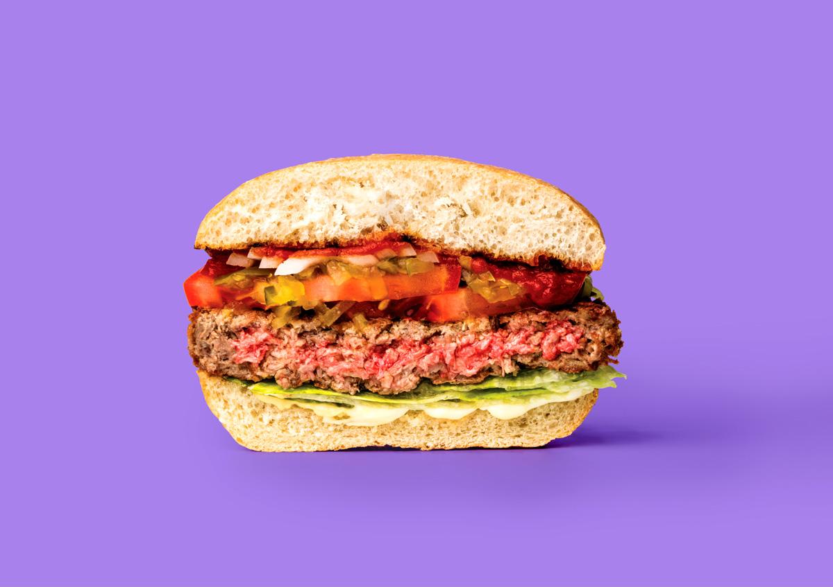 Un hamburger che non è fatto di carne