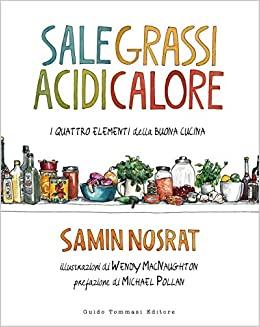 libri food da regalare - sale grassi acidi calore