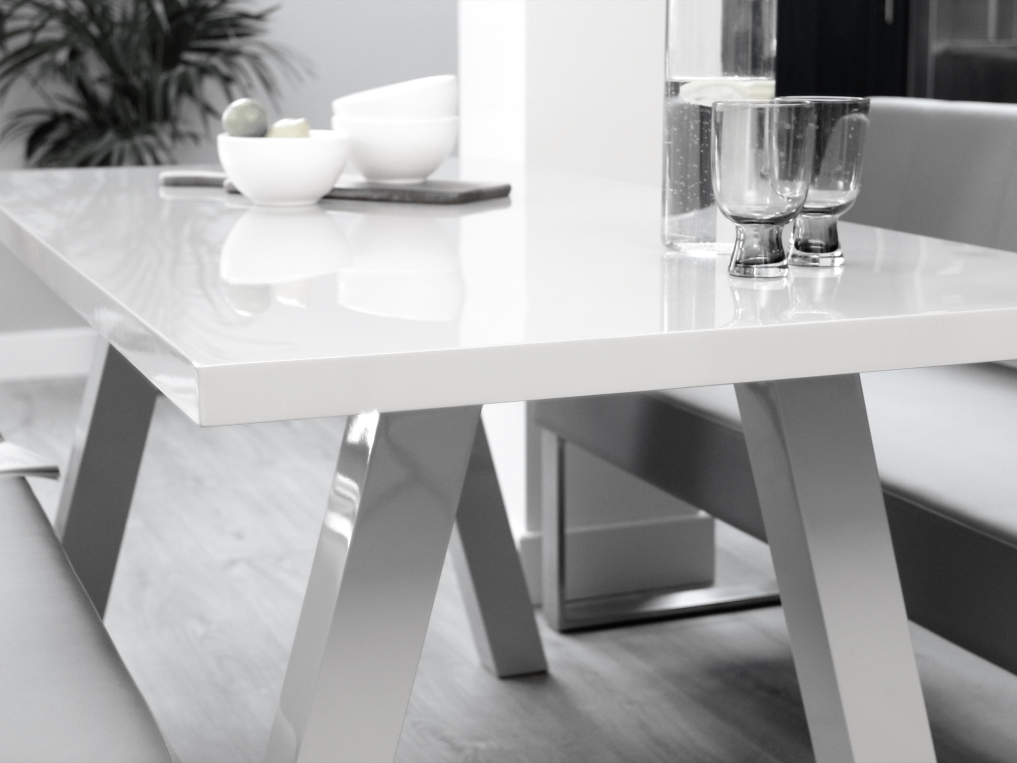 Take A Bite Out Of 24 Modern Dining Rooms: Zen 6 Seater Oak Table