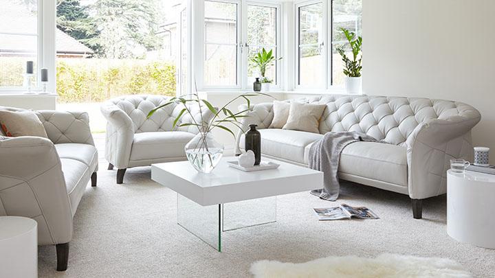 Luxe Modern Leather Sofa Range. Play Full Video