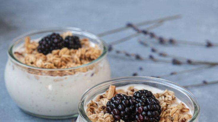 Danone easy overnight oats with yogurt