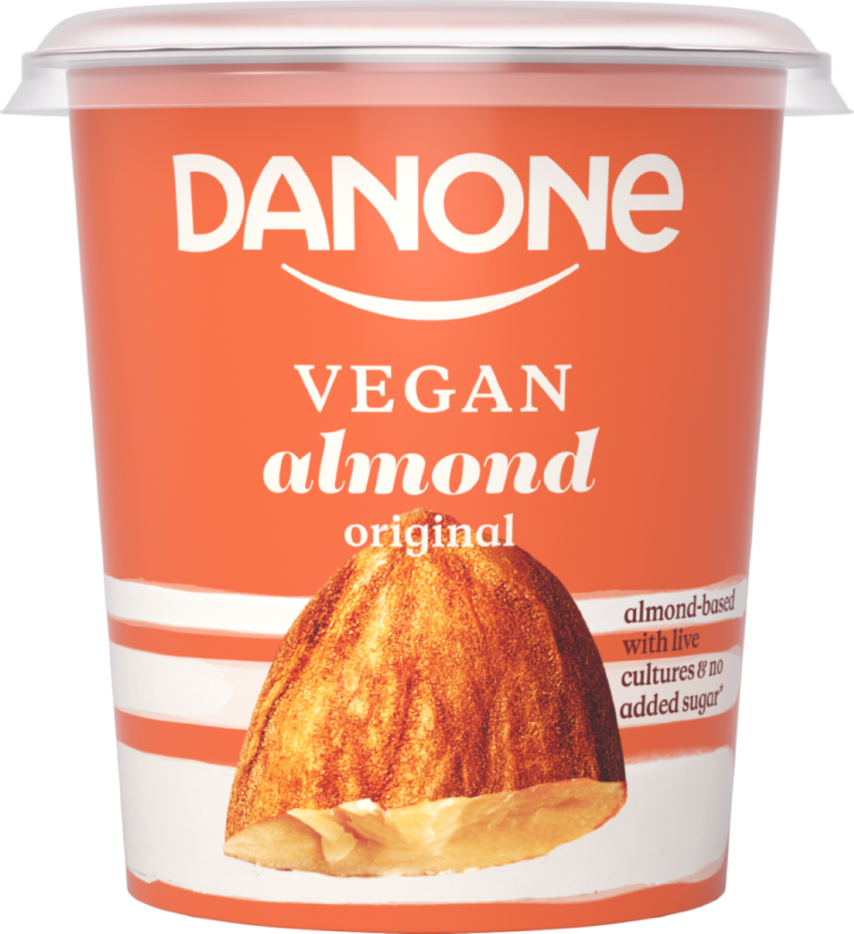 Danone vegan original no added sugar
