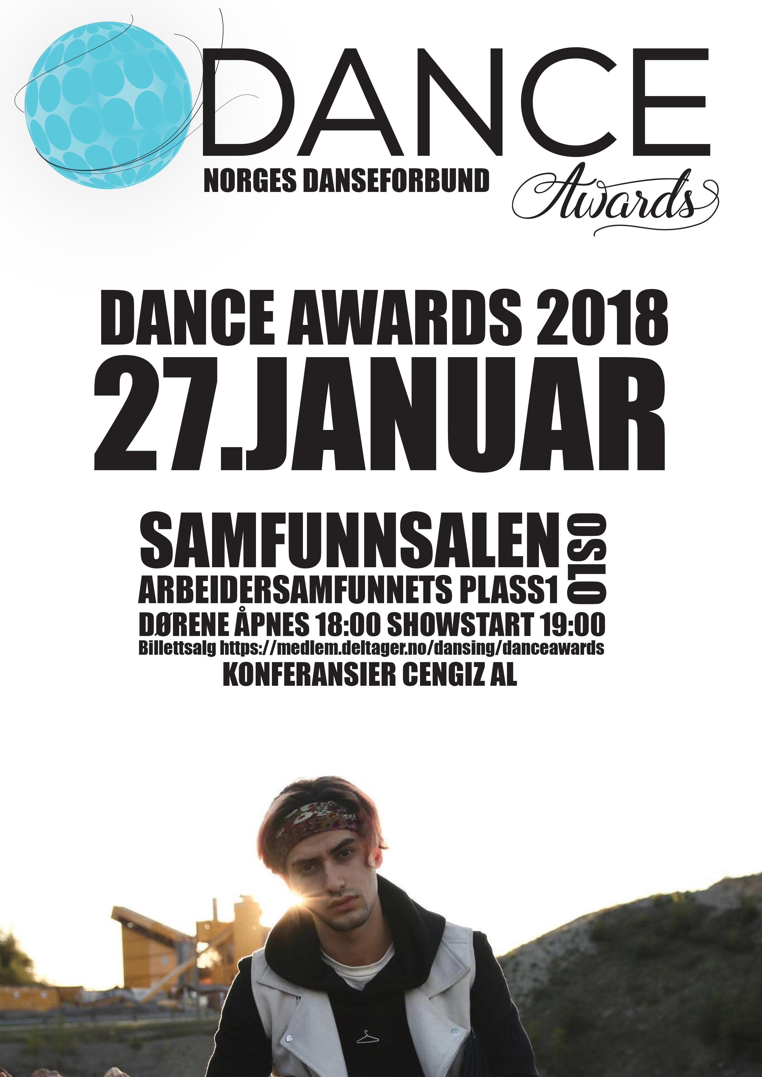 Dance Awards er dansens festaften