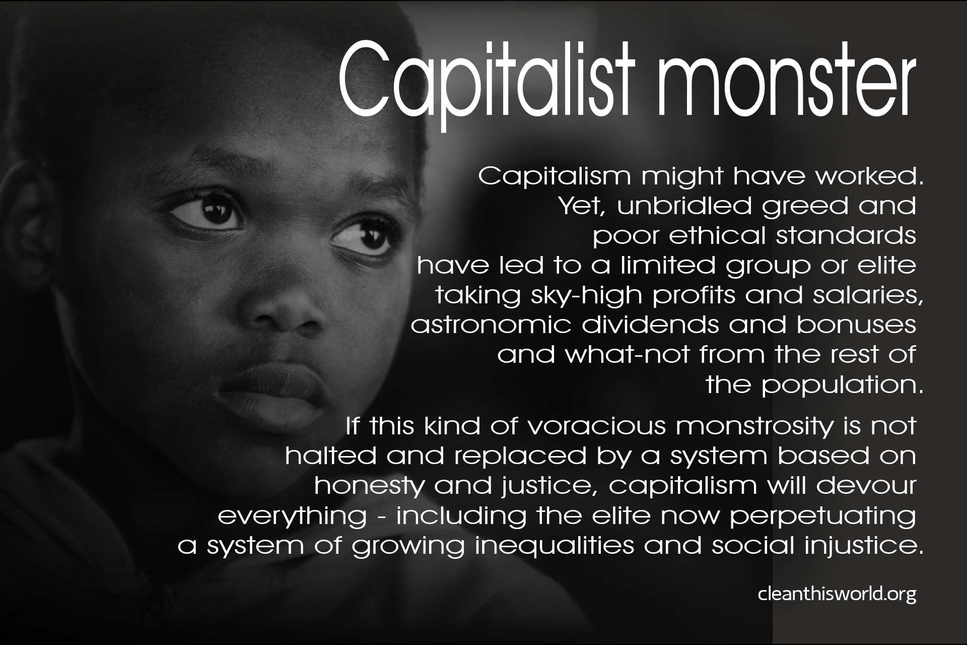 Capitalist monster