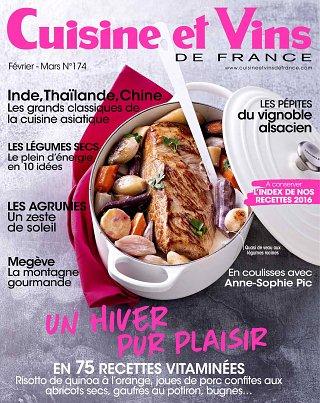Cuisine et Vins de France - N°174
