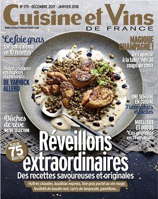 Cuisine et Vins de France - N°179