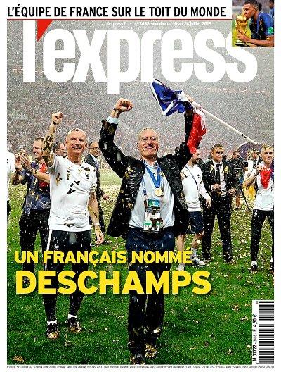 L'Express 3498 (18/07/2018) : Un Français nommé Deschamps