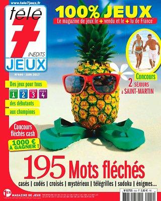 Abonnement magazine t l 7 jeux pas cher viapresse - Abonnement tele 7 jours pas cher ...
