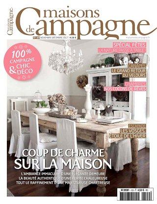 abonnement magazine maisons de campagne pas cher viapresse. Black Bedroom Furniture Sets. Home Design Ideas