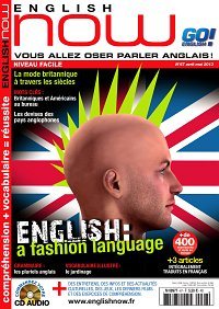 Magazine ENGLISH NOW numéro