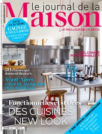 magazine le journal de la maison en abonnement. Black Bedroom Furniture Sets. Home Design Ideas