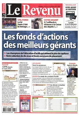 Le Revenu Hebdo + Placements - N°1416