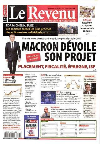 Le Revenu Hebdo + Placements - N°1420
