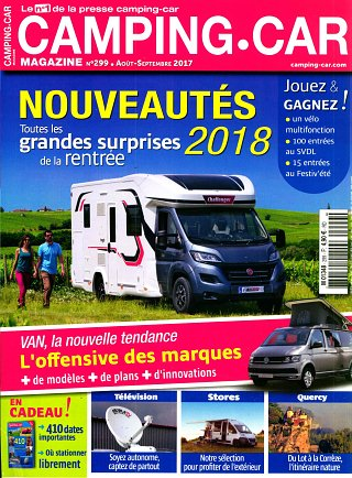 magazine camping car magazine en abonnement. Black Bedroom Furniture Sets. Home Design Ideas
