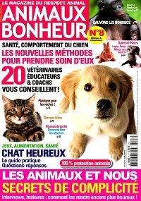 magazine animaux bonheur en abonnement. Black Bedroom Furniture Sets. Home Design Ideas
