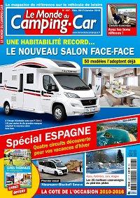 abonnement magazine le monde du camping car pas cher viapresse. Black Bedroom Furniture Sets. Home Design Ideas
