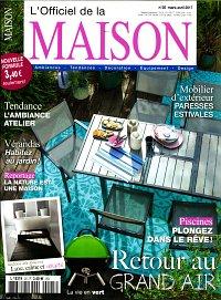 Abonnement magazine l 39 officiel de la maison pas cher for Abonnement journal de la maison