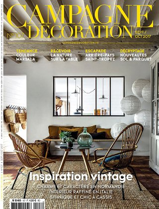 abonnement magazine campagne d coration pas cher viapresse. Black Bedroom Furniture Sets. Home Design Ideas