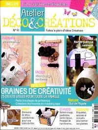 abonnement magazine atelier d co cr ations pas cher viapresse. Black Bedroom Furniture Sets. Home Design Ideas