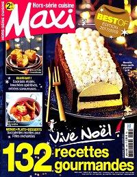 abonnement magazine maxi hs cuisine pas cher viapresse. Black Bedroom Furniture Sets. Home Design Ideas