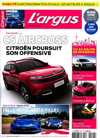 L'Argus de l'Automobile - N°4507