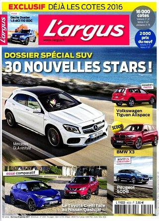 L'Argus de l'Automobile - N°4500