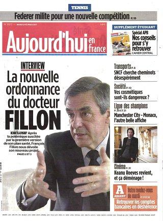 Aujourd'hui en France - N°170221