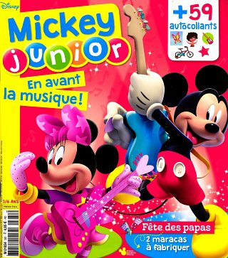 Mickey Junior - Winnie - N°381