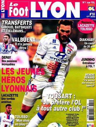 Le Foot Lyon - N°55