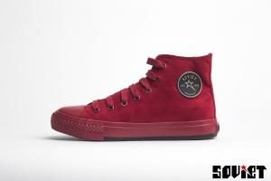 SOVIET Apparel Lacie Sneakers Red 36-41