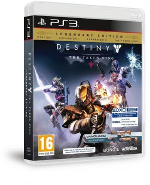 PS3 Destiny The Taken King: Legendary Edition