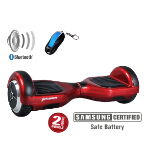"Xplorer Hoverboard City red 6"" v2"