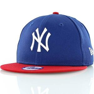 New Era dj. kapa Mlb Cotton Block NYY Royal Scar
